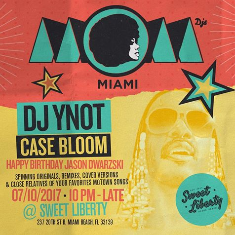 MOM Miami DJ Ynot Case Bloom