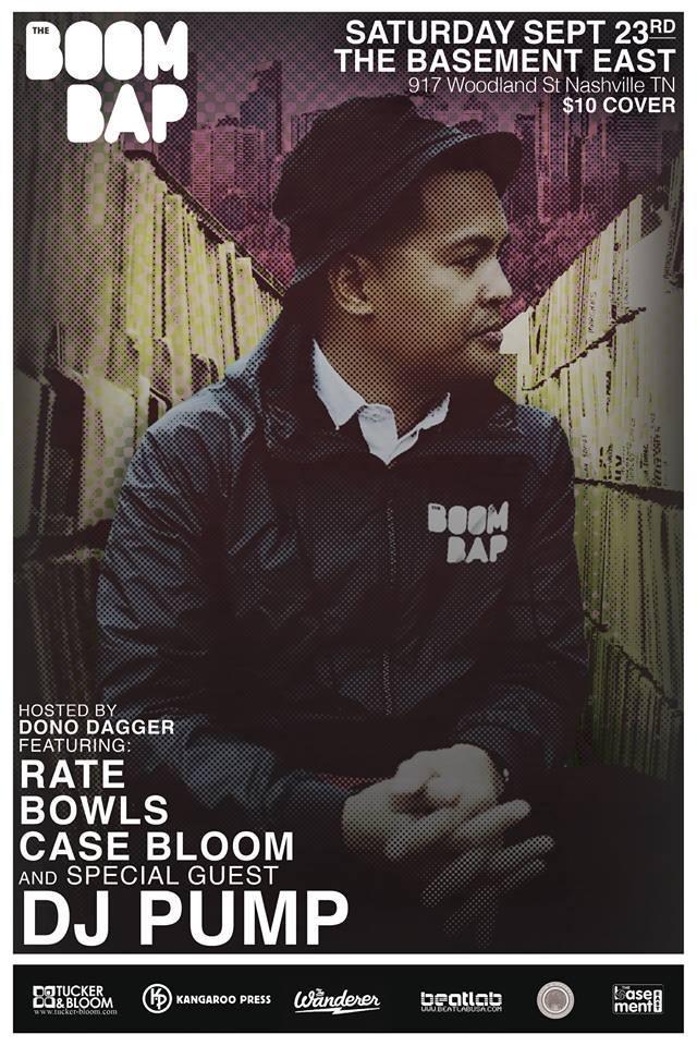 THE BOOM BAP featuring DJ Pump