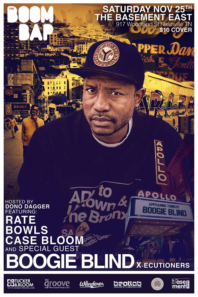 THE BOOM BAP featuring DJ BOOGIE BLIND