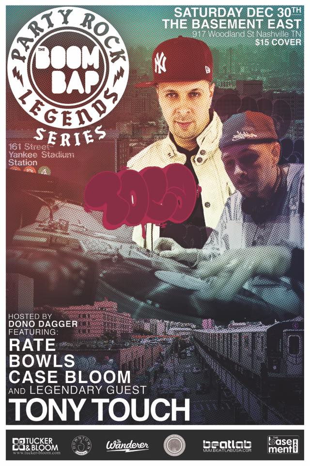 The BOOM BAP Legends: Featuring Tony Touch