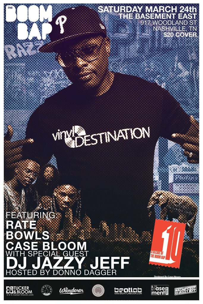 The BOOM BAP Nashville: Featuring DJ Jazzy Jeff