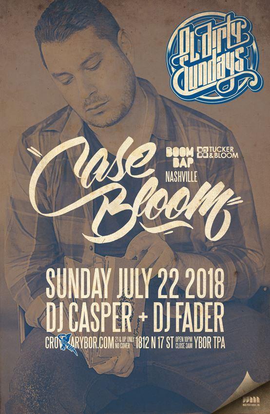 Case Bloom Ol Dirty Sundays Tampa