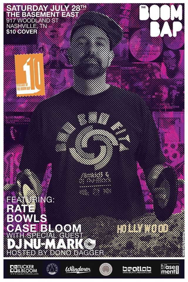 DJ Numark The Boom Bap Nashville