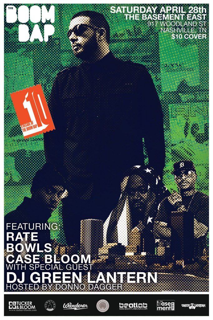 The BOOM BAP Nashville: Featuring DJ Green Lantern